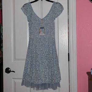 Disney Cinderella Collection Blue Dress Size M